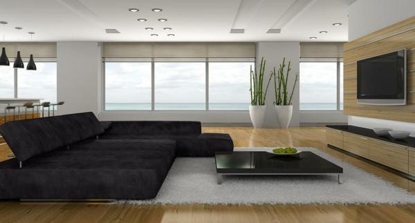 Designer Wohnzimmer Fein On Mit Wie Ein Modernes Aussieht 135 Innovative 2
