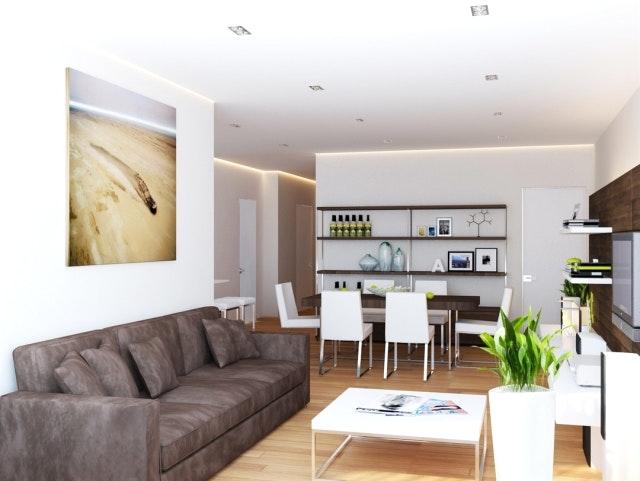 Einrichtung Weiß Braun Exquisit On Mit Home Dekor Beeiconic Com 2