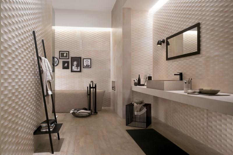 Einzigartig On Badezimmer Auf Fliesen Ideen 95 Inspirierende Beispiele 7