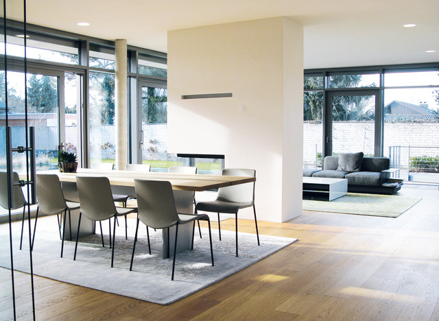 Esszimmer Modern Einfach On Auf Inneneinrichtung Eines Wohnhauses 6
