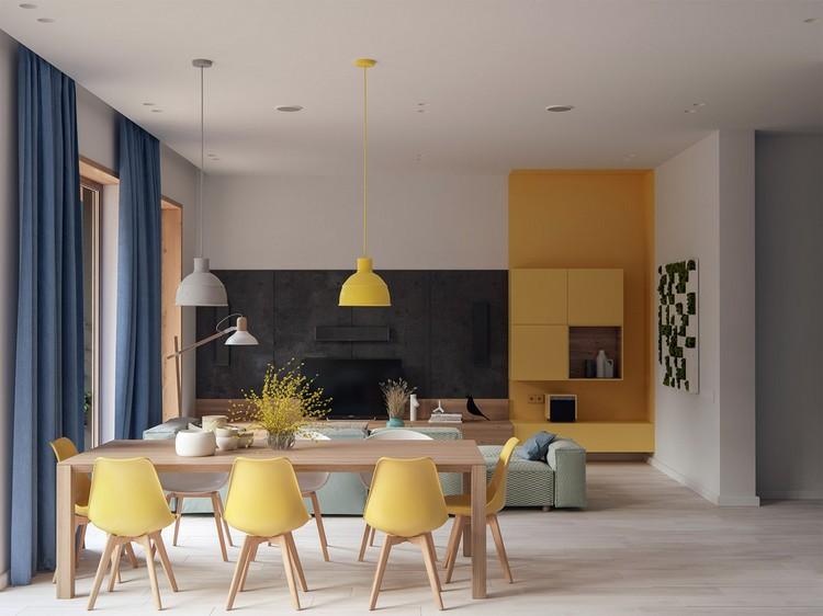 Esszimmer Modern Glänzend On Innerhalb Einrichten Im Modernen Stil 16 Ideen Und 1