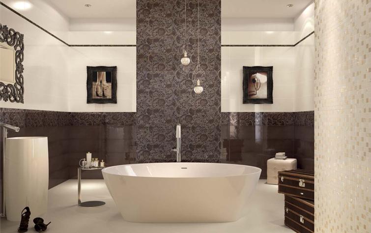 Fliesen Badezimmer Braun Bescheiden On Mit Haus Renovierung Modernem Innenarchitektur Kleines Bad 6