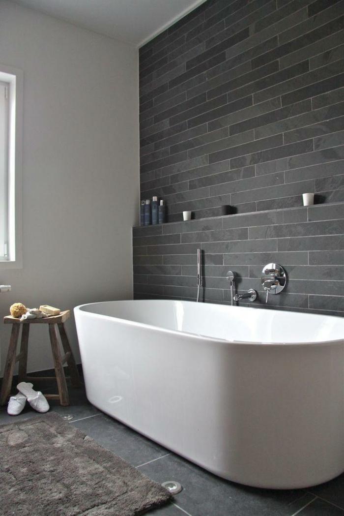 Fliesen Badezimmer Grau Interessant On Für Graue Fürs 61 Bilder Die Sie Beeindrucken 5