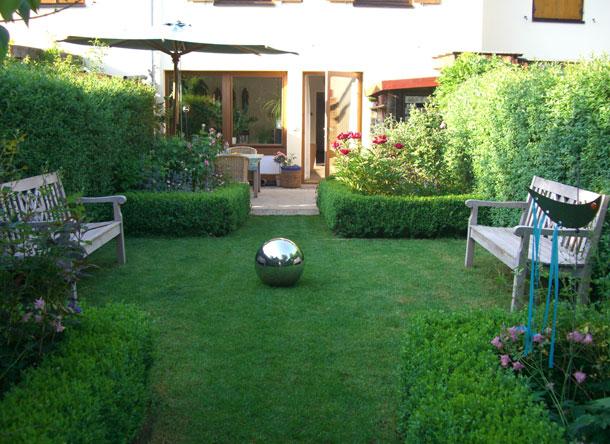 Garten Reihenhaus Nett On Andere Auf Nach Der Fertigstellung 3