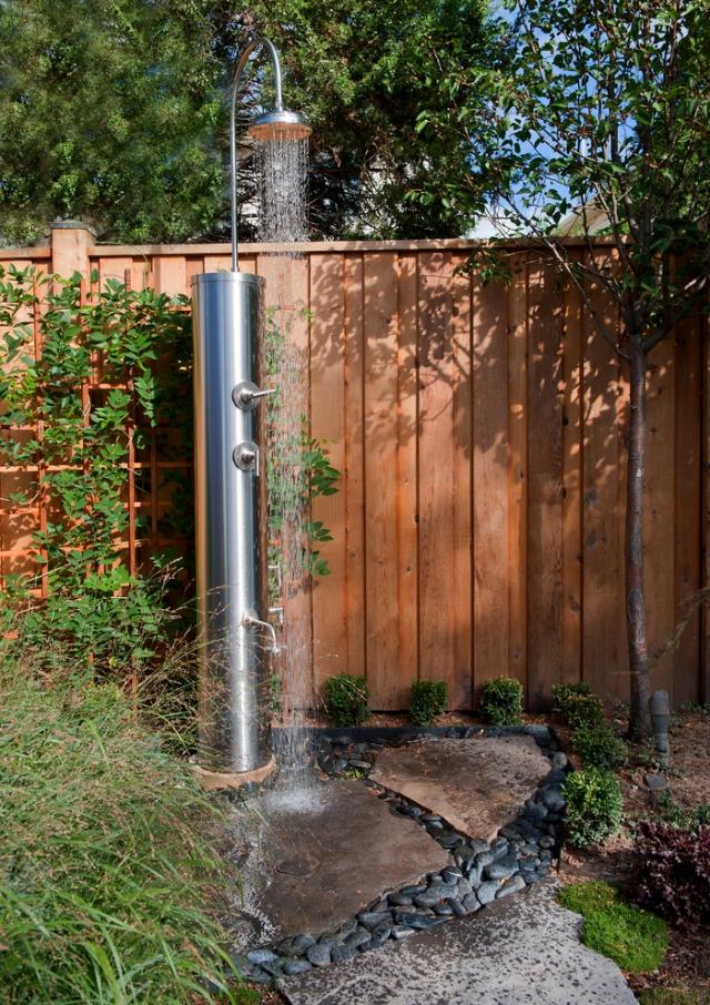 Gartendusche Ideen Zeitgenössisch On Mit Für Welches Material Ist Das Beste 9