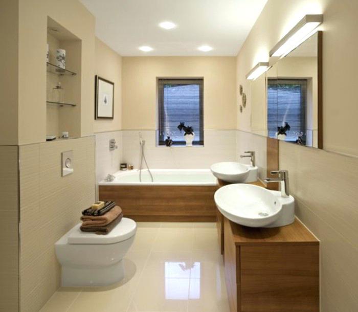 Gestaltung Badezimmer Einfach On Innerhalb Dekoration 3