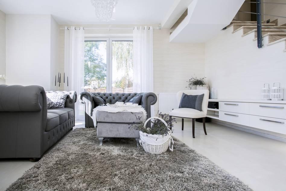 Grau Weißes Wohnzimmer Imposing On In Bezug Auf Farb Kombinationen Mit 3