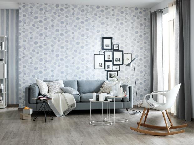 Grau Weißes Wohnzimmer Modern On Mit Fotostrecke Ein In Klassichem Weiß Gestalten 9