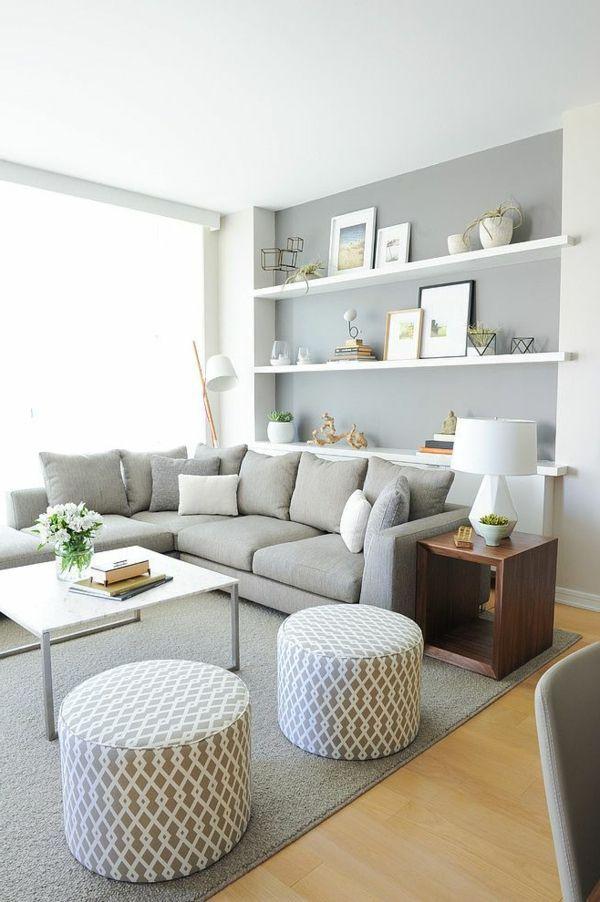 Grau Weißes Wohnzimmer Stilvoll On Mit Die Besten 25 Graue Ideen Auf Pinterest 7