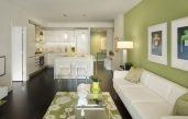 Wohnzimmergestaltung Grün
