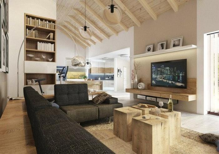Häuser Moderner Landhausstil Einrichtung Zeitgenössisch On Modern Mit Home Dekor Beeiconic Com 1