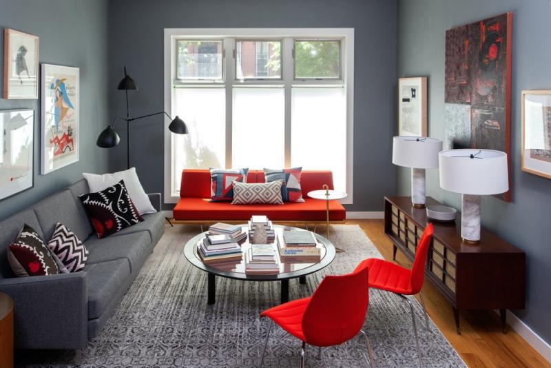 Ideen Für Wohnzimmer Bescheiden On Mit 100 Frischekick Farben 5
