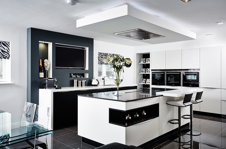 Ideen Küche Herrlich On Beabsichtigt Küchen 2015 8 Beispiele Für Offene Gestaltung 5