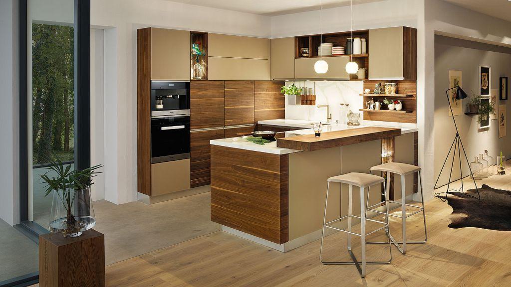 Ideen Küche Zeitgenössisch On Mit U Form 5 Moderne Küchen Bildern Küchenfinder Magazin 9