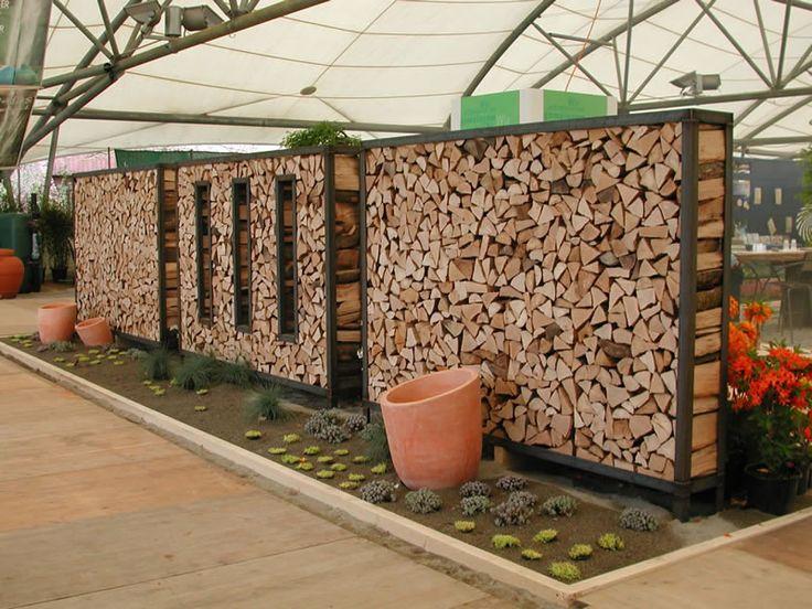 Ideen Sichtschutz Aus Holz Einfach On In Garten Amocasio Com 5