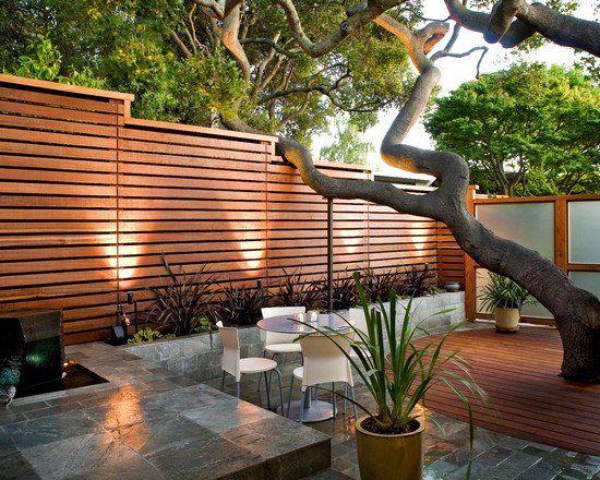Ideen Sichtschutz Aus Holz Imposing On überall Die Besten 25 Lattenzäune Auf Pinterest Bambus Pflanzer 3