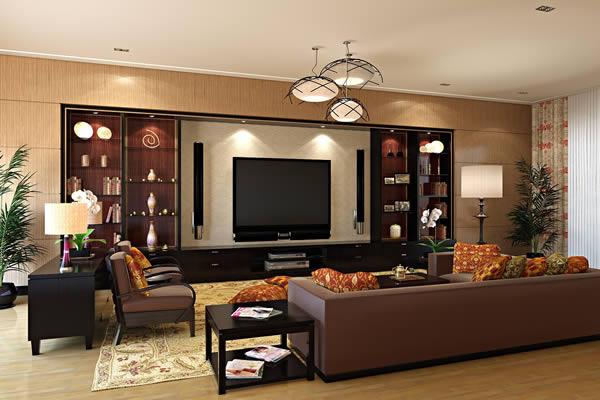 Ideen Wohnzimmer Braune Couch Fein On Braun Auf Wohnraum Dekorationen 70 Beispiele Die Sich Lohnen 5