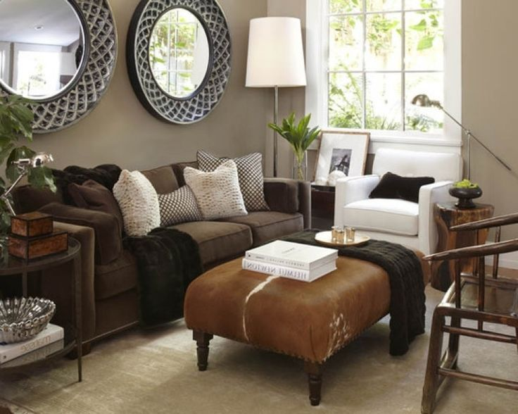 Ideen Wohnzimmer Braune Couch Glänzend On Braun Beabsichtigt Die Besten 25 Braunes Sofa Auf Pinterest 2
