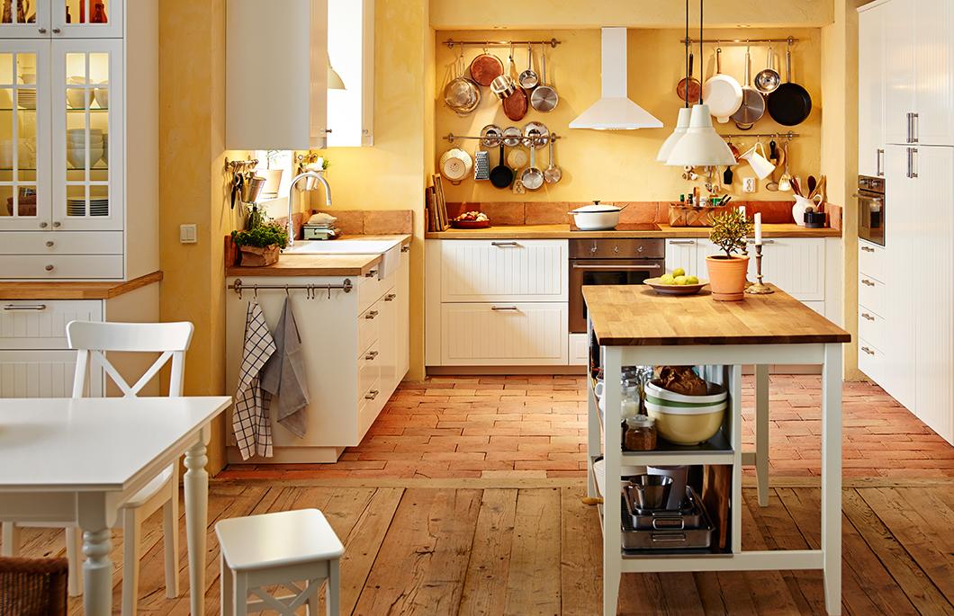 Ikea Landhausstil Ausgezeichnet On Andere Beabsichtigt Einbauküche Im Inspiration IKEA AT 4