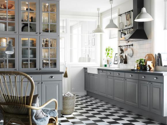 Ikea Landhausstil Erstaunlich On Andere Innerhalb Küche Bodbyn Von Bild 12 LIVING AT HOME 7