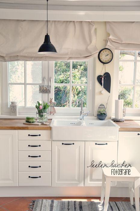 Ikea Landhausstil Perfekt On Andere Mit Einbauküchen Landhausküche Grau 12 8