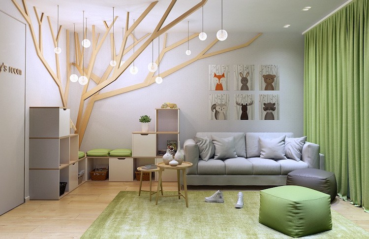Jugendzimmer Wald