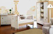 Kinderzimmer Baby Braun Beige