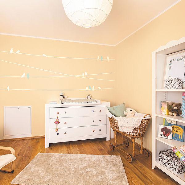 Kinderzimmer Blau Beige Exquisit On Mit Spezial Farben Für Und Babyzimmer Alpina Farbenfreunde 9