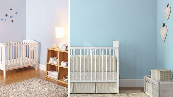 Kinderzimmer Blau Beige Nett On überall Streichen Und Gestalten Farben Shop Farbe Online 1