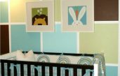 Kinderzimmer Wandgestaltung In Braun