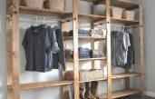 Kleiderschrank Selber Bauen Mit Holzregalen