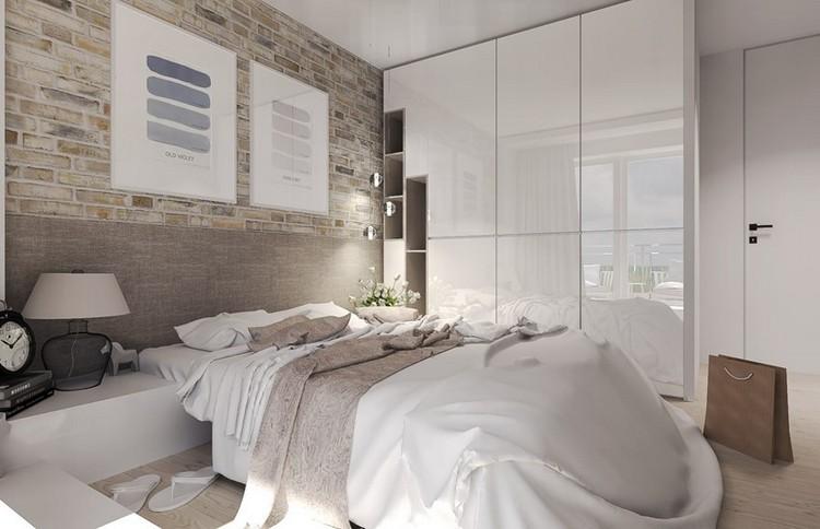 Kleine Schlafzimmer Weiß Beige Ausgezeichnet On Für Räume Farblich Gestalten Wandfarbe Und Möbel 2