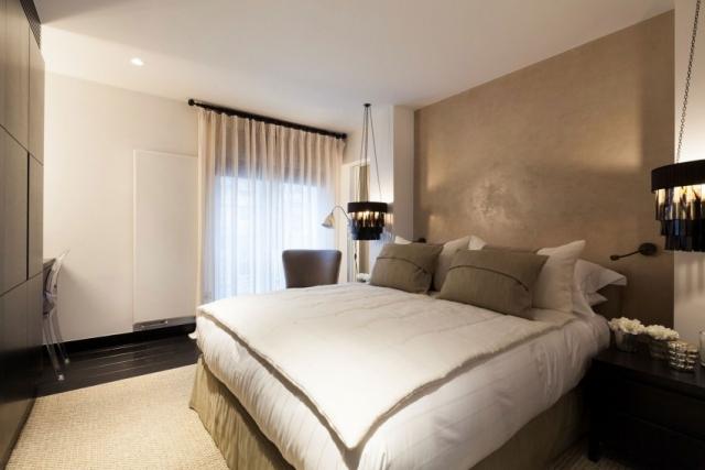 Kleine Schlafzimmer Weiß Beige