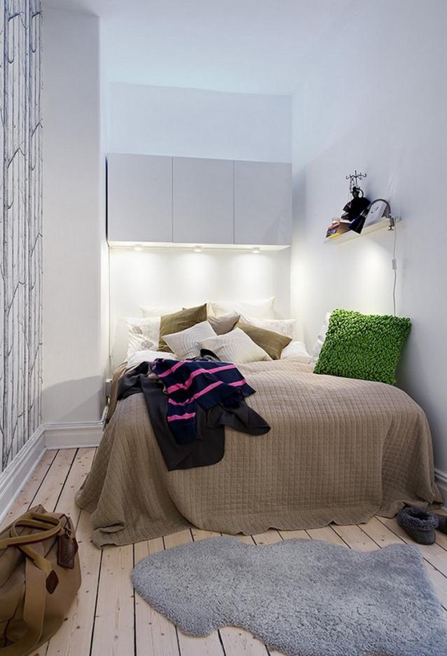 Kleine Schlafzimmer Weiß Beige Zeitgenössisch On Beabsichtigt Wohndesign 2017 Unglaublich Coole Dekoration Ideen 5
