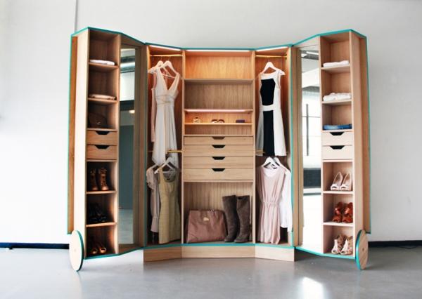 Kleines Schlafzimmer Mit Begehbarem Kleiderschrank Einfach On Innerhalb Begehbarer Für Zimmer Ideen Tipps 3