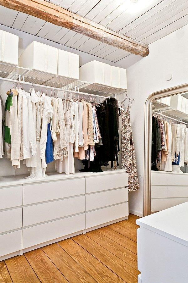 Kleines Schlafzimmer Mit Begehbarem Kleiderschrank Fein On Begehbarer Für Zimmer Ideen Tipps 9