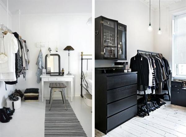 Kleines Schlafzimmer Mit Begehbarem Kleiderschrank Fein On überall Begehbarer Für Zimmer Ideen Tipps 4