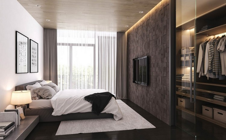 Kleines Schlafzimmer Mit Begehbarem Kleiderschrank Großartig On überall Begehbarer Für Zimmer Ideen Tipps 2