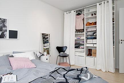 Kleines Schlafzimmer Mit Begehbarem Kleiderschrank Herrlich On Für Begehbarer Wohnideen Einrichten 6