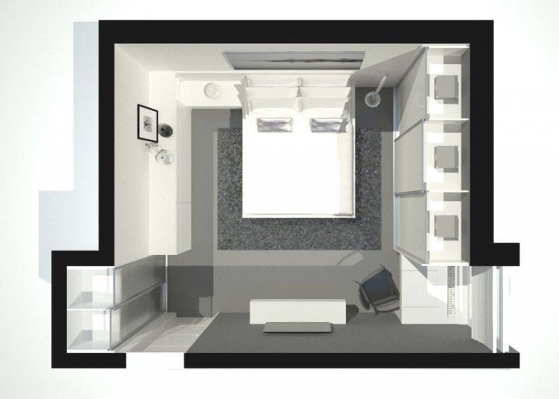 Kleines Schlafzimmer Mit Begehbarem Kleiderschrank Zeitgenössisch On Auf Begehbarer Bigschool Info 5