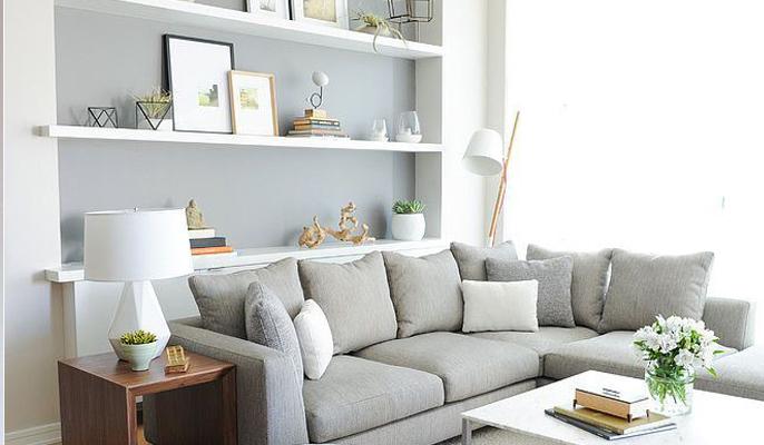 Kleines Wohnzimmer Farbe Einfach On Und So Kannst Du Es Clever Einrichten 5