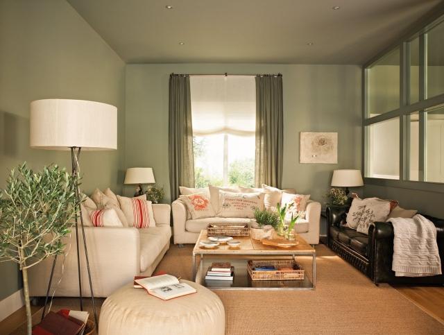 Kleines Wohnzimmer Farbe Frisch On Beabsichtigt 29 Ideen Fürs Streichen Tipps Und Beispiele 3