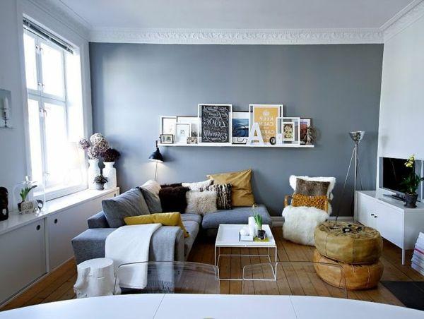 Kleines Wohnzimmer Farbe Schön On Für Die Besten 25 Kleine Ideen Auf Pinterest 7