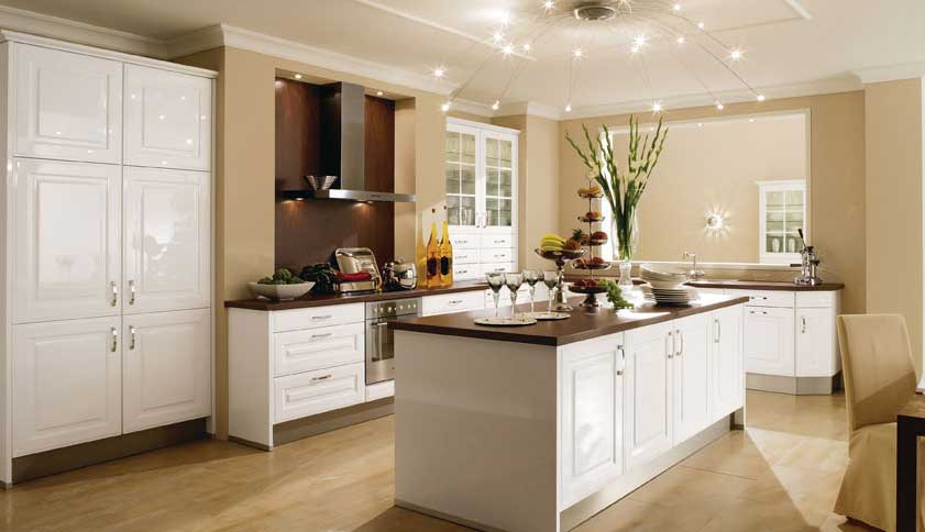 Küche Landhausstil Modern Braun Herrlich On In Bezug Auf Solarium Kuche Designs Auch 4