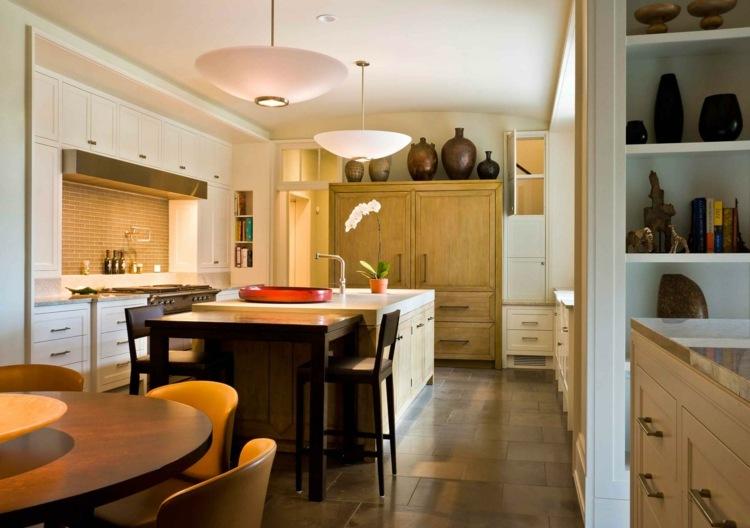 Küche Landhausstil Modern Braun Herrlich On Innerhalb Kuche Reizvolle Moderne Deko Idee Mit 8