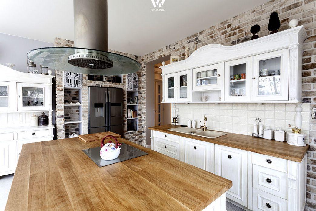 Küche Landhausstil Modern Braun