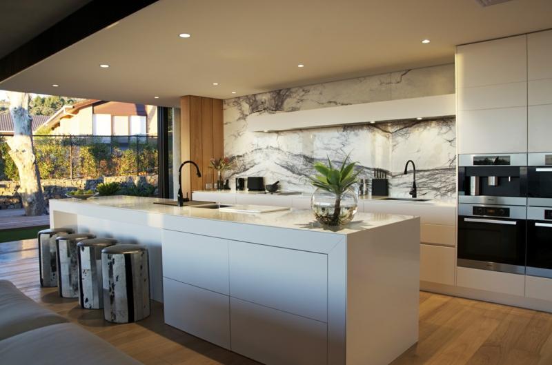 Küche Mit Kochinsel Modern Großartig On In Olegoff Com 3