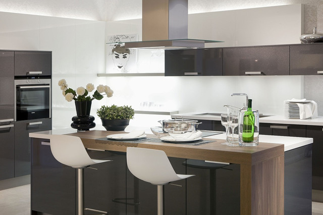 Küche Mit Kochinsel Modern Nett On Offene Wohnküche 4