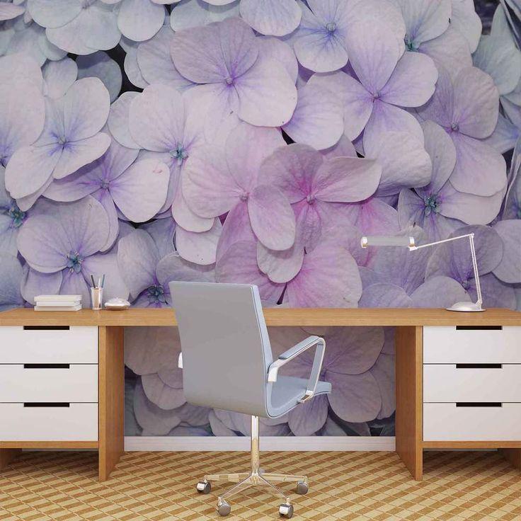 Lila Tapete Schlafzimmer Exquisit On Beabsichtigt Die Besten 25 Fototapete Blumen Ideen Auf Pinterest 5