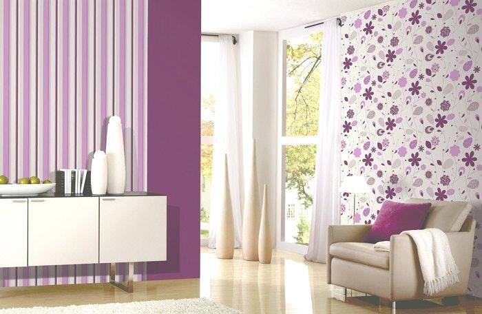 Lila Tapete Schlafzimmer Fein On Auf Mit Zierlich 3 Und 12 700x456 Home 9